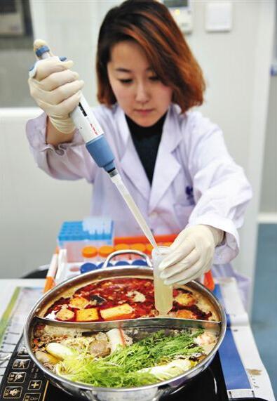 清汤火锅煮1小时后亚硝酸盐含量超麻辣锅